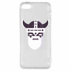Чехол для iPhone5/5S/SE Viking flat vector