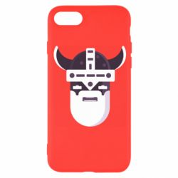 Чехол для iPhone 8 Viking flat vector