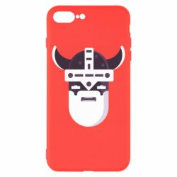 Чехол для iPhone 8 Plus Viking flat vector