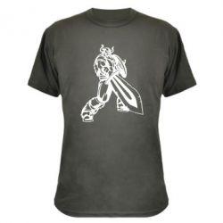 Камуфляжная футболка Викинг меч