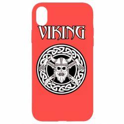 Чехол для iPhone XR Vikings and axes
