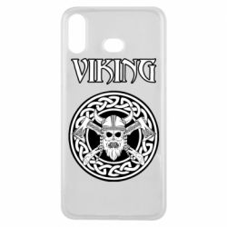Чехол для Samsung A6s Vikings and axes