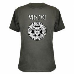 Камуфляжная футболка Vikings and axes