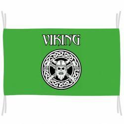 Флаг Vikings and axes