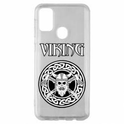Чехол для Samsung M30s Vikings and axes