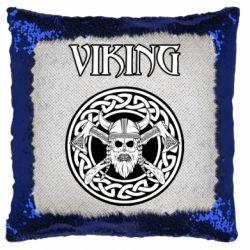 Подушка-хамелеон Vikings and axes