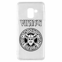 Чехол для Samsung A8 2018 Vikings and axes