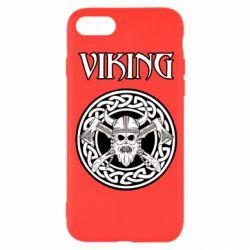 Чехол для iPhone 8 Vikings and axes