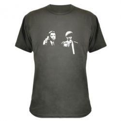 Камуфляжная футболка Vincent and Jules - FatLine