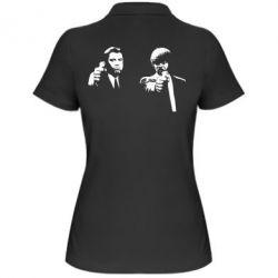 Женская футболка поло Vincent and Jules - FatLine