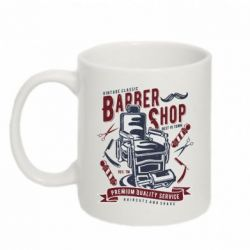 Кружка 320ml Vintage Barber Shop