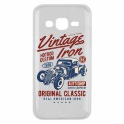 Чохол для Samsung J2 2015 Vintage iron 1986
