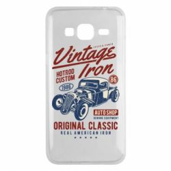 Чохол для Samsung J3 2016 Vintage iron 1986