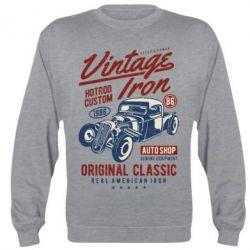Реглан (світшот) Vintage iron 1986