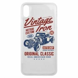 Чохол для iPhone Xs Max Vintage iron 1986