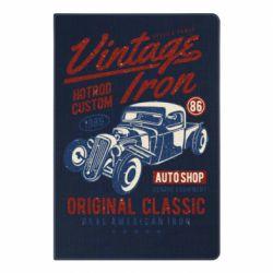 Блокнот А5 Vintage iron 1986