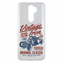 Чохол для Xiaomi Redmi Note 8 Pro Vintage iron 1986