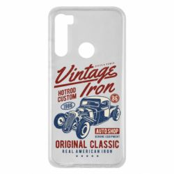 Чохол для Xiaomi Redmi Note 8 Vintage iron 1986