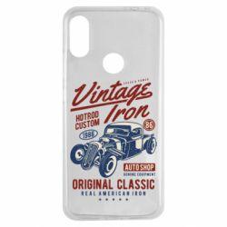 Чохол для Xiaomi Redmi Note 7 Vintage iron 1986