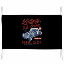 Прапор Vintage iron 1986