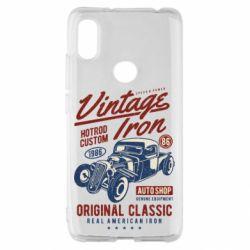 Чохол для Xiaomi Redmi S2 Vintage iron 1986