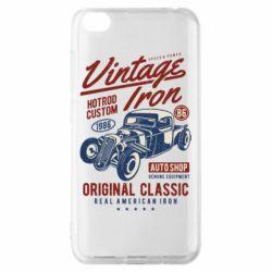 Чохол для Xiaomi Redmi Go Vintage iron 1986