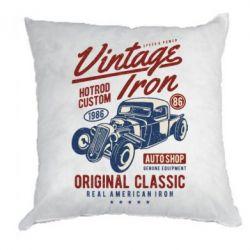 Подушка Vintage iron 1986