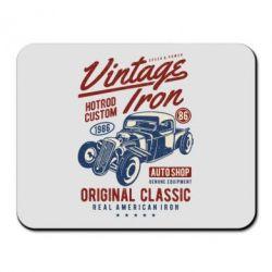 Килимок для миші Vintage iron 1986