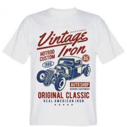 Чоловіча футболка Vintage iron 1986