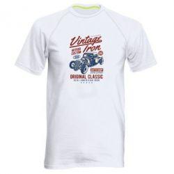 Чоловіча спортивна футболка Vintage iron 1986