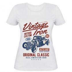 Жіноча футболка Vintage iron 1986