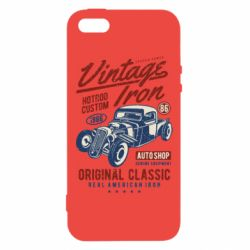 Чохол для iphone 5/5S/SE Vintage iron 1986