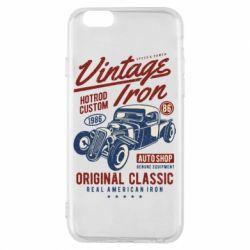 Чохол для iPhone 6/6S Vintage iron 1986