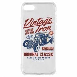 Чохол для iPhone 7 Vintage iron 1986