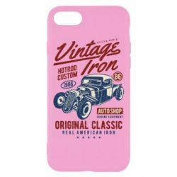 Чохол для iPhone 8 Vintage iron 1986
