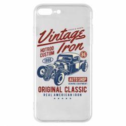 Чохол для iPhone 8 Plus Vintage iron 1986