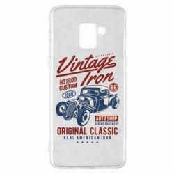 Чохол для Samsung A8+ 2018 Vintage iron 1986