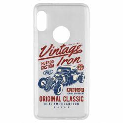 Чохол для Xiaomi Redmi Note 5 Vintage iron 1986