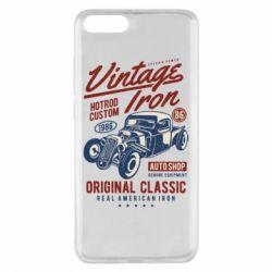 Чохол для Xiaomi Mi Note 3 Vintage iron 1986