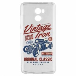 Чехол для Xiaomi Redmi 4 Vintage iron 1986