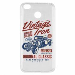 Чехол для Xiaomi Redmi 4x Vintage iron 1986