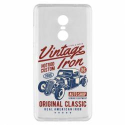 Чохол для Xiaomi Redmi Note 4x Vintage iron 1986