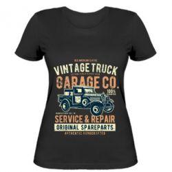 Жіноча футболка Vintage Truck