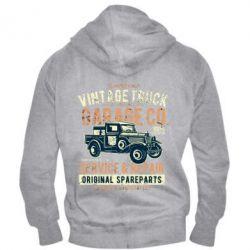 Чоловіча толстовка на блискавці Vintage Truck