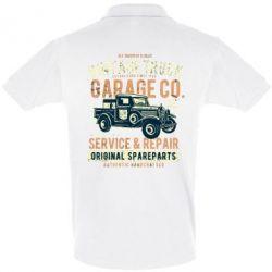 Футболка Поло Vintage Truck