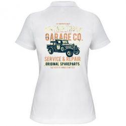 Жіноча футболка поло Vintage Truck