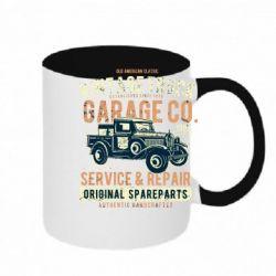 Кружка двоколірна 320ml Vintage Truck