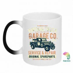 Кружка-хамелеон Vintage Truck