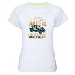 Жіноча спортивна футболка Vintage Truck
