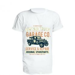 Подовжена футболка Vintage Truck